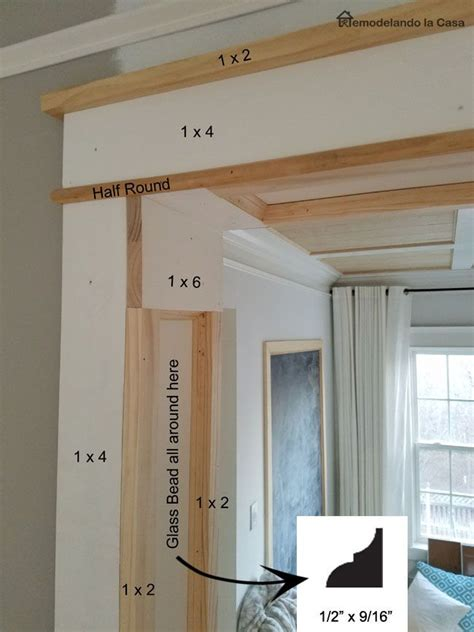diy doorway trim moldings trim farmhouse trim home
