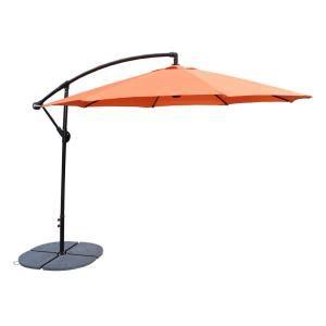 ft cantilever patio umbrella  burnt orange