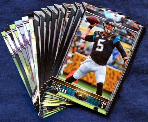 2015 Topps Jacksonville Jaguars NFL Football Card Team Set