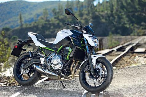 Review Kawasaki Z650 by Kawasaki Z650 2017 On Review Mcn