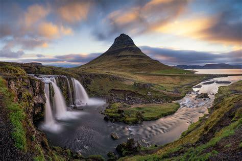 Kirkjufell Waterfall Iceland Iceland