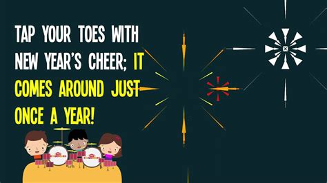 New Year Song For Kids  Happy New Year Song For Kids  The Kiboomers Youtube