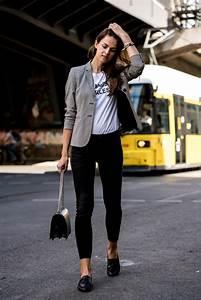 Look Chic Femme : slim fit jeans casual chic styled fashionblog berlin ~ Melissatoandfro.com Idées de Décoration