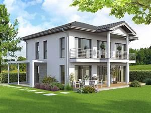 Haus Mit Holz : fertighaus sky view mit dachterrasse mit bekiesung vario haus fertigteilh user ~ Frokenaadalensverden.com Haus und Dekorationen