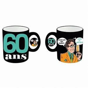 Cadeau Homme 60 Ans : mug rigolo 60 ans homme un cadeau humoristique d 39 anniversaire ~ Teatrodelosmanantiales.com Idées de Décoration