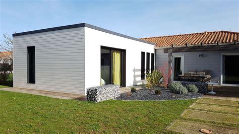 extension chambre extension bois agrandissement maison 44 woodéal