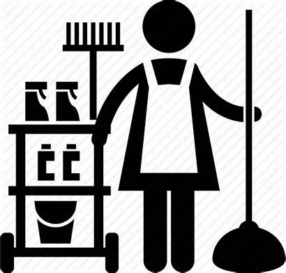Services Maintenance Maid Cleaning Icon Office Cleaner