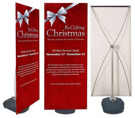 outdoor banner stands large format printing
