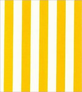 Yellow and White Stripe Oilcloth Fabric – Oilcloth Alley