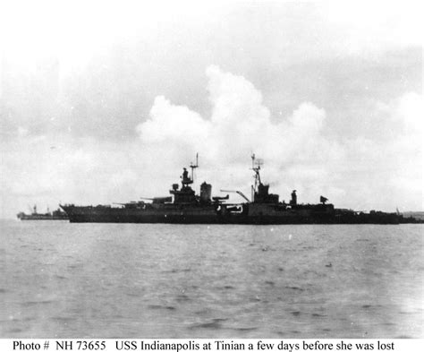 Uss Indianapolis Sinking by Usn Ships Loss Of Uss Indianapolis Ca 35