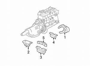 Gmc Canyon Automatic Transmission Mount  Rear  Engine