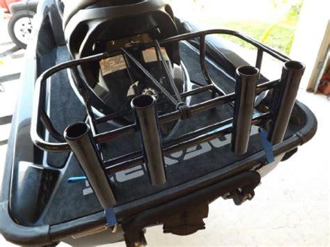 jet ski cooler rack jet ski fishing rack 4 rod holders no plates buy
