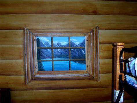 faux log cabin walls faux painted log cabin walls