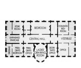 The White House Blueprints by Second Floor White House Museum