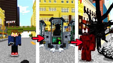 Como Virar O Venom No Novo Mod HerÓis No Minecraft Youtube