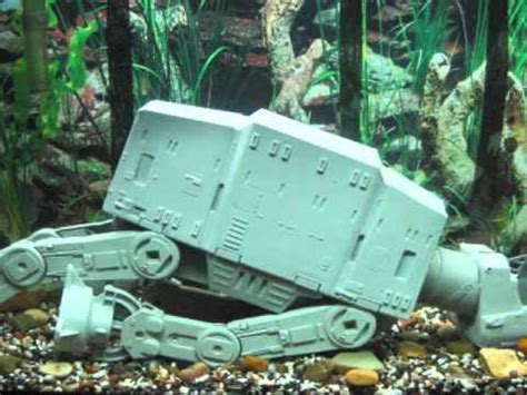 wars tank decorations wars imperial assault on hoth fish tank