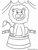Coloring Lion Pages Unicycle Template Printable Phonics Colouring Ganesha Drawing sketch template