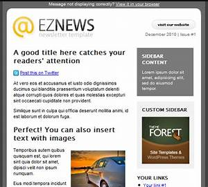 50 email templates to enhance your newsletter39s appeal With newsletter templates for outlook