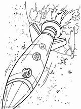 Coloring Space Pages Ship Printable Boys Print sketch template