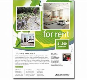 free real estate templates With rental property flyer template