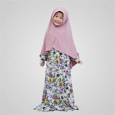 desain model baju muslim anak perempuan terbaru