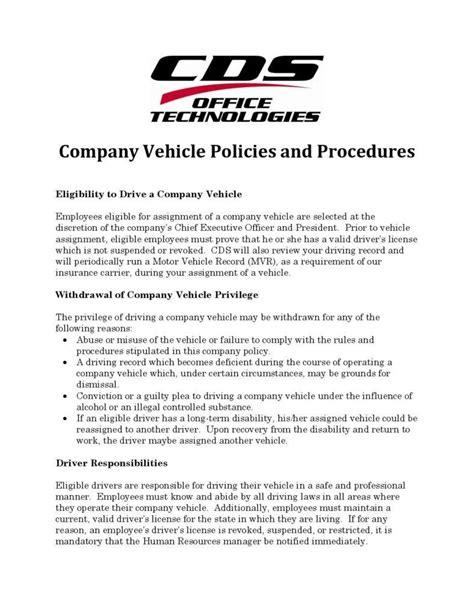 company policy template 10 sle company policy templates free premium templates
