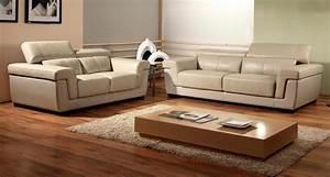 canape cuir et meuble contemporain salle a manger With meuble de salle a manger avec canape cuir