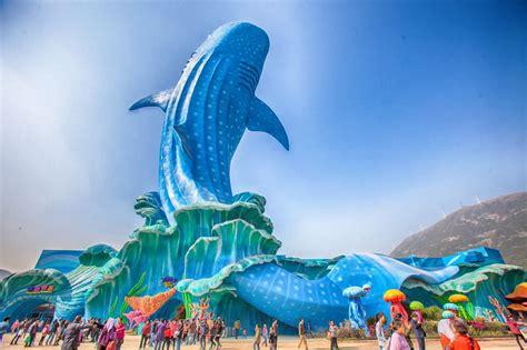 l aquarium le plus grand du monde en chine voyage insolite