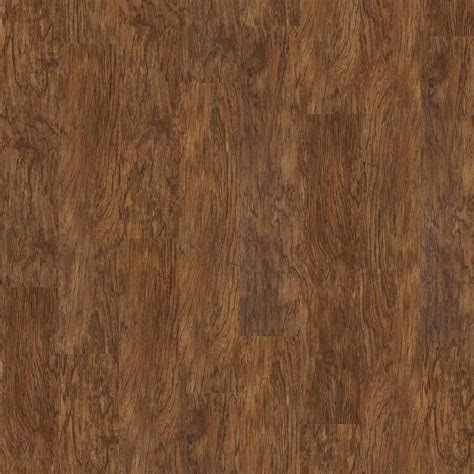 shaw flooring adhesives shop shaw 15 piece 7 in x 48 in tigers eye adhesive luxury vinyl plank at lowes com