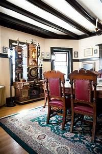 Modern, Interior, Design, And, Exquisite, Decoration, Steampunk