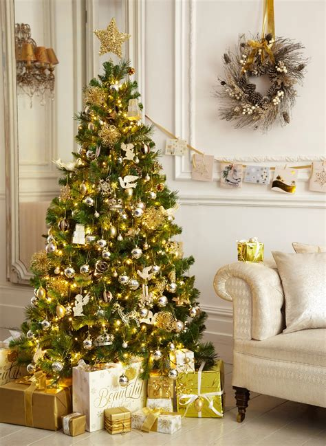 white tree with gold decorations 30 gold decorations ideas for home flawssy