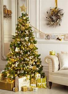 40, Gold, Christmas, Tree, Decorations, Ideas, For, Coming, Holiday, Session