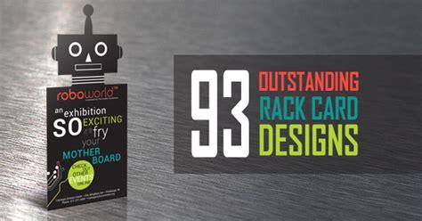 custom packaging products design  printing  rack card