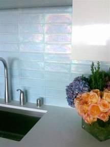 Glass Tile Kitchen Backsplash Kitchen Update Add A Glass Tile Backsplash Hgtv