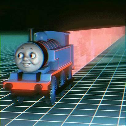 Thomas Engine Choo Giphy Gifs Animated Crossover