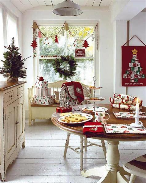 inter cuisines décoration de noël pour un intérieur en design feria