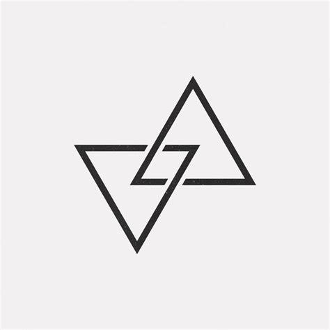 2 dreiecke ineinander tattoo bedeutung