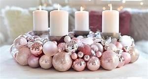 Adventskranz Ideen 2017 : adventskranz aus weihnachtskugeln selber machen ~ Frokenaadalensverden.com Haus und Dekorationen