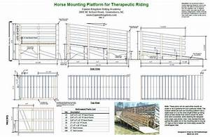 Therapeutic Horse Riding Mounting Platform & Ramp Plans