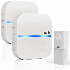 Eslife Smart Doorbell Chime Kit  No Battery Required   2