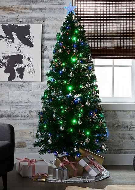 pre decorated trees walmart decorations walmart