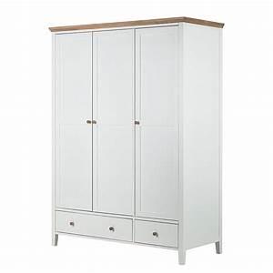 Kleiderschrank 3 Türig Weiß : kleiderschrank celeste 3 t rig wei honigfarben lackiert ~ Bigdaddyawards.com Haus und Dekorationen