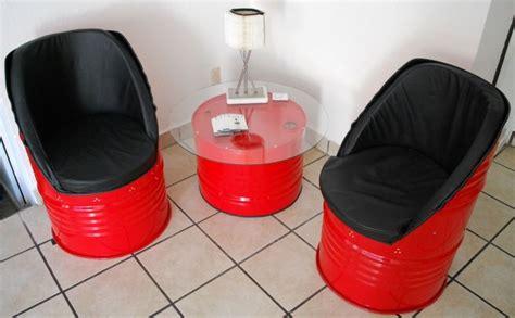 muebles reciclados muebles reciclados sala echa de tambos 2 sillones con su