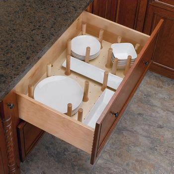 deep drawer inserts peg systems  easy    bowls  plates  order kitchensourcecom