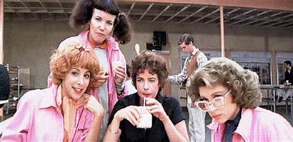 Grease Giphy Gifs Pink Ladies Greece Rizzo