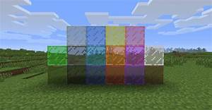 Stained glass Minecraft Mod