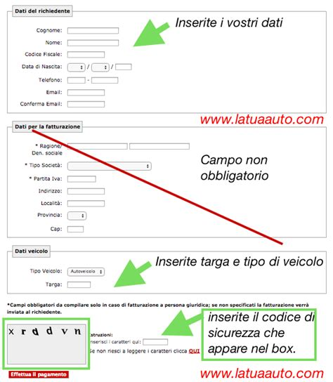 Banca Dati Pra by Come Richiedere Una Visura Al Pra La Tua Auto