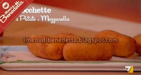 mozzarella in carrozza parodi crocchette di patate mozzarella e acciughe di benedetta