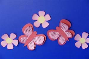 Schmetterling Basteln Papier : ostern basteln aus ~ Lizthompson.info Haus und Dekorationen