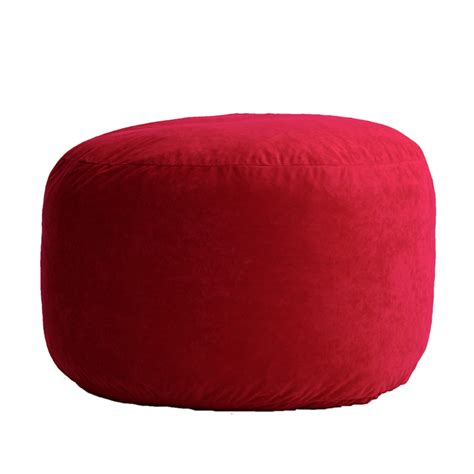 fuf bean bag chair medium 3 5 medium fuf bean bag chair in comfort suede fabric by
